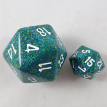34mm D20 speckled