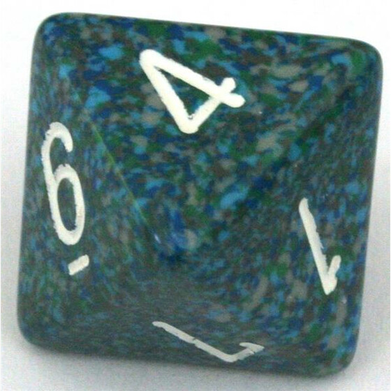 Chessex Speckled Sea D8
