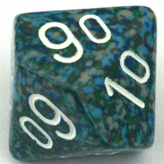 Chessex Speckled Sea D10%