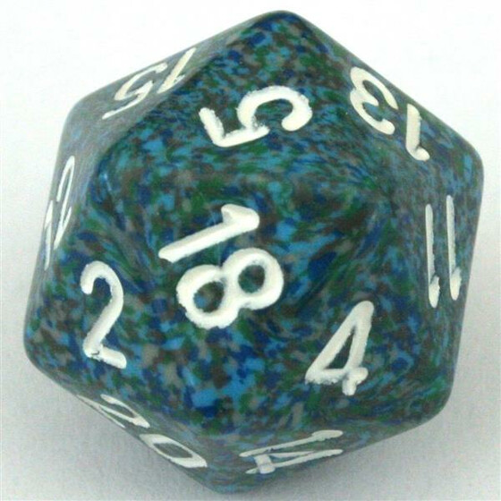 Chessex Speckled Sea D20