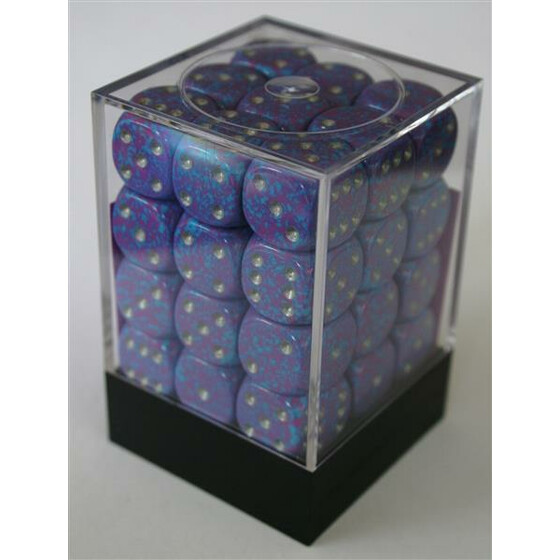 Chessex Speckled Silver Tetra W6 12mm Set
