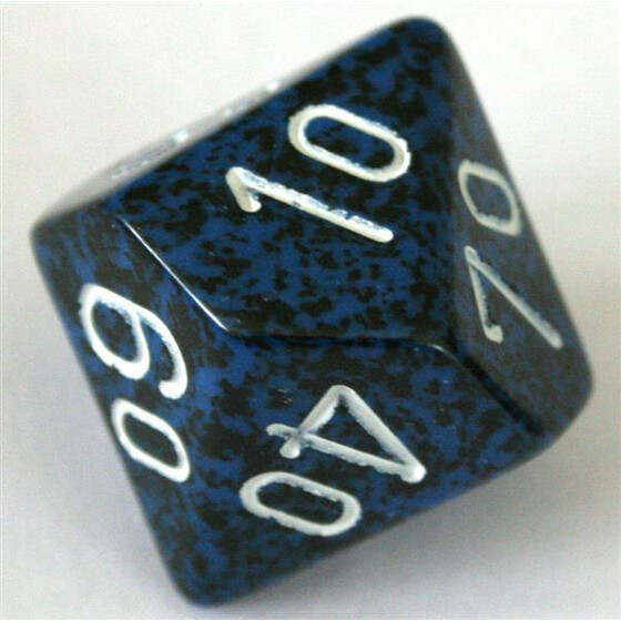 Chessex Speckled Stealth D10%