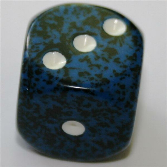 Chessex Speckled Stealth D6 16mm