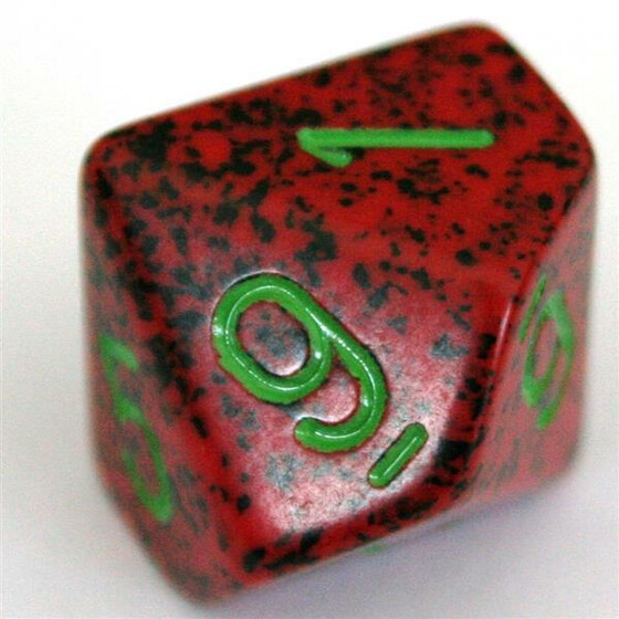 Chessex Speckled Strawberry W10