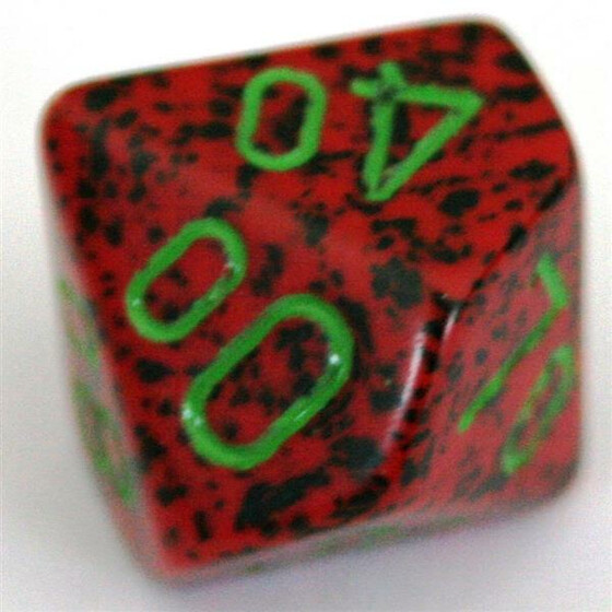 Chessex Speckled Strawberry W10%