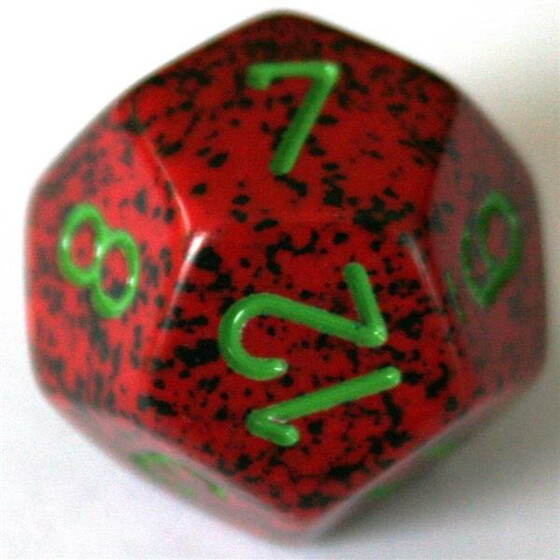 Chessex Speckled Strawberry W12