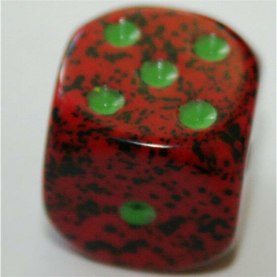 Chessex Speckled Strawberry D6 16mm