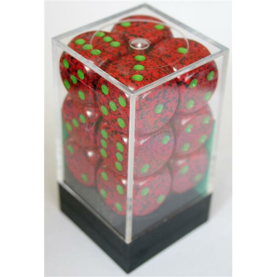 Chessex Speckled Strawberry W6 16mm Set
