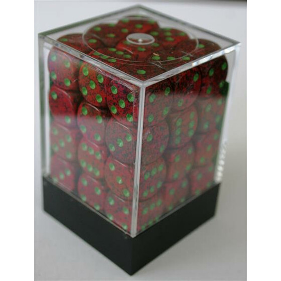 Chessex Speckled Strawberry D6 12mm Set