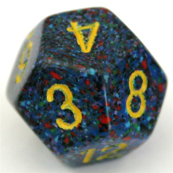 Chessex Speckled Twilight W12