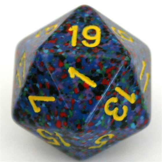 Chessex Speckled Twilight D20