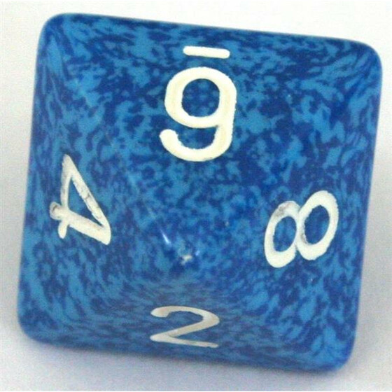 Chessex Speckled Water W8