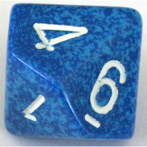 Chessex Speckled Water W10