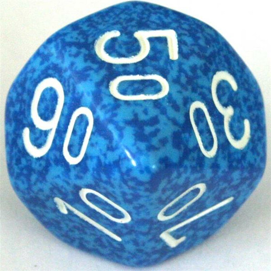 Chessex Speckled Water W10%