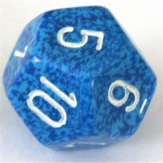 Chessex Speckled Water W12