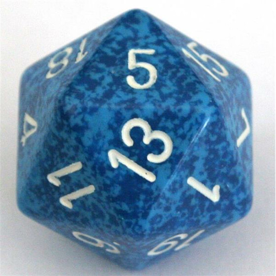 Chessex Speckled Water W20