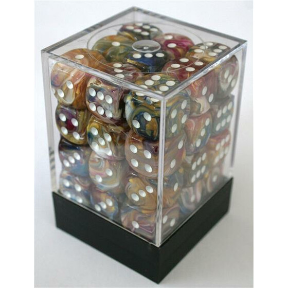Chessex Festive Carousel W6 12mm Set