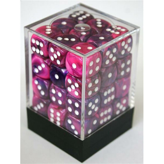 Chessex Festive Violet W6 12mm Set