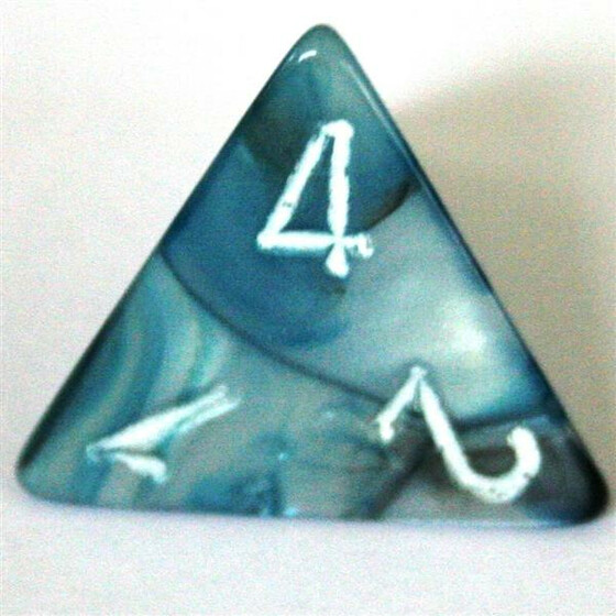 Chessex Lustrous Slate/White W4