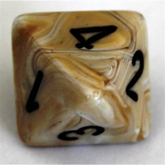 Chessex Marble Ivory W8
