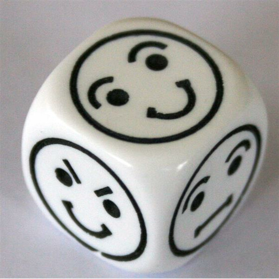 Smiley Dice D6