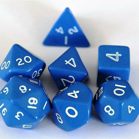 Polyhedral Set Blue