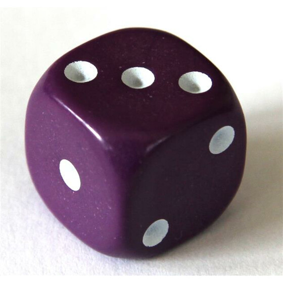 D6 12mm Purple