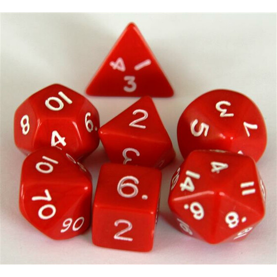 Polyhedral Set Red