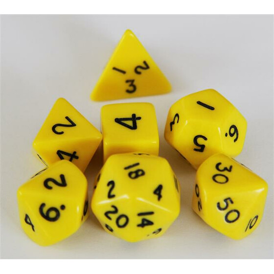 Polyhedral Set Yellow