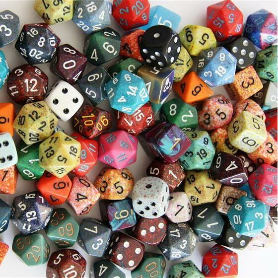 Chessex Pound o dice Mix