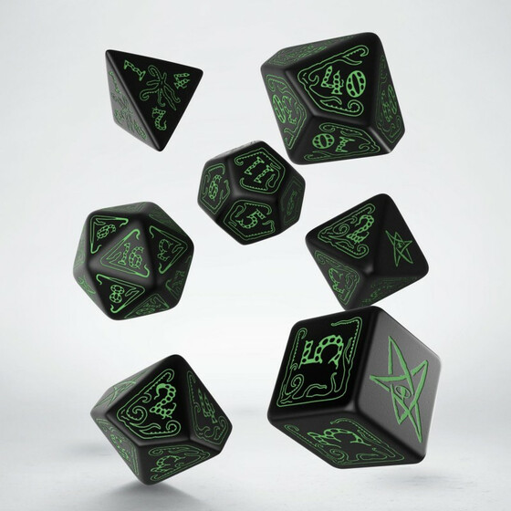 Call of Cthulhu Black/green Set