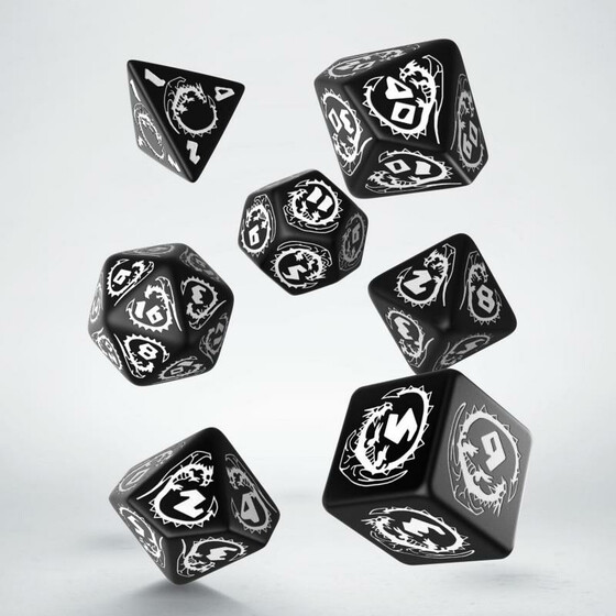 Dragons Black/white Set