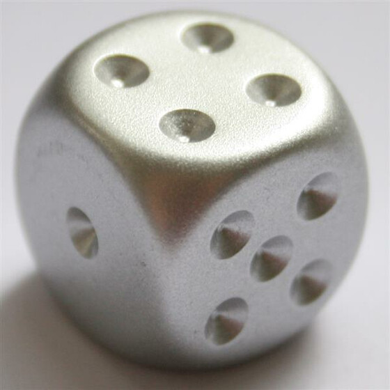 Chessex Aluminium Plated D6