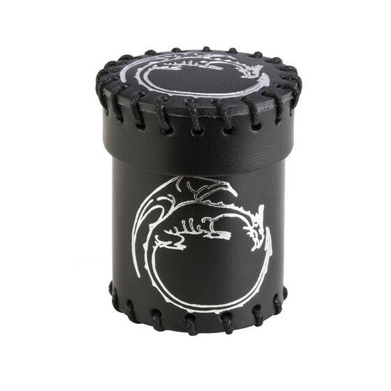 Dice cup Dragon black