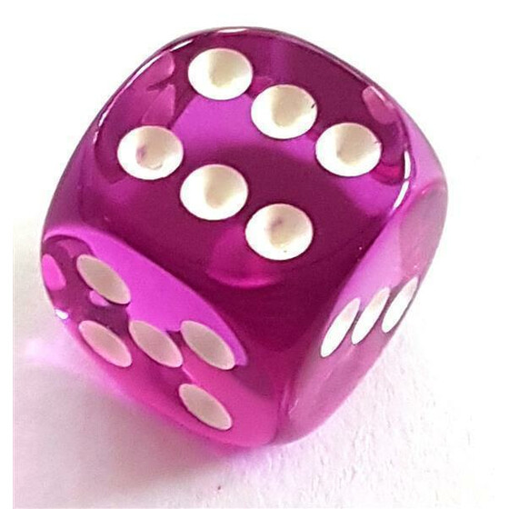 D6 16mm translucent purple