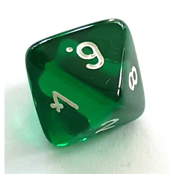 Translucent green D8