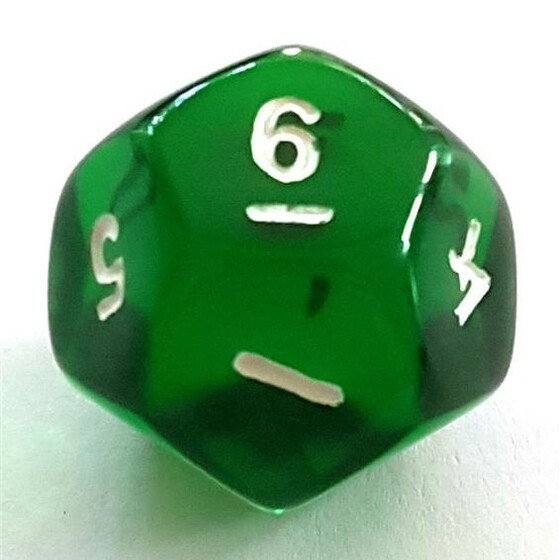 Translucent green D12
