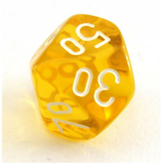Translucent yellow D10%