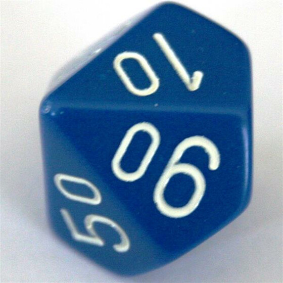 Chessex Opaque Blue W10%