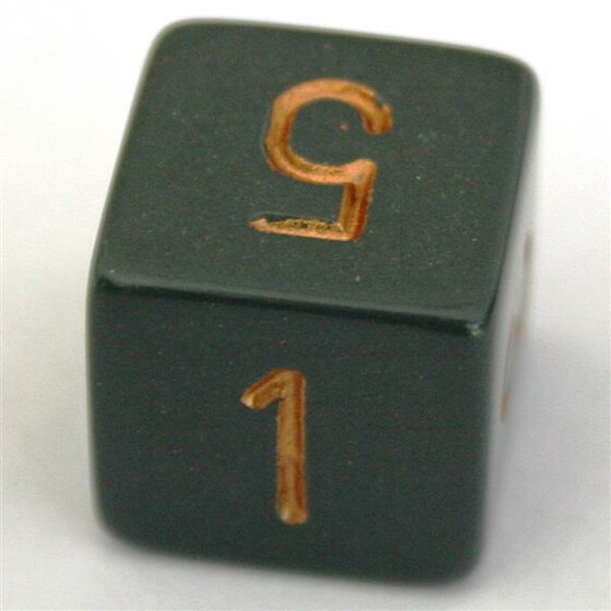 Chessex Opaque Dark Grey/Copper W6