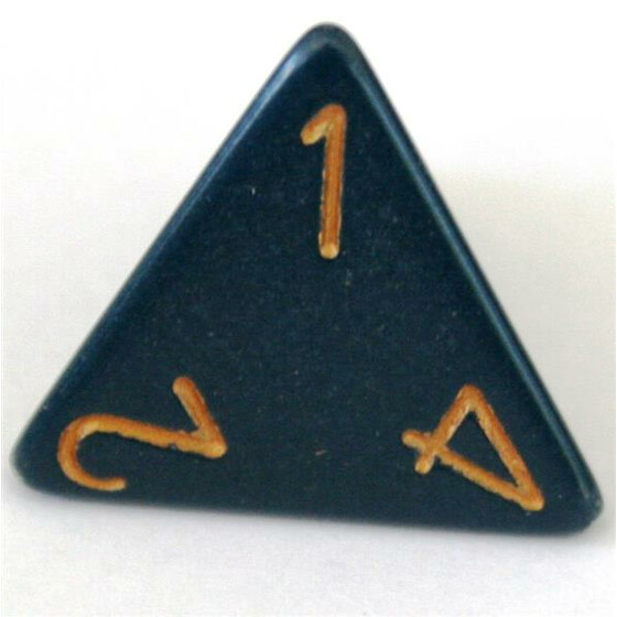 Chessex Opaque Dusty Blue D4