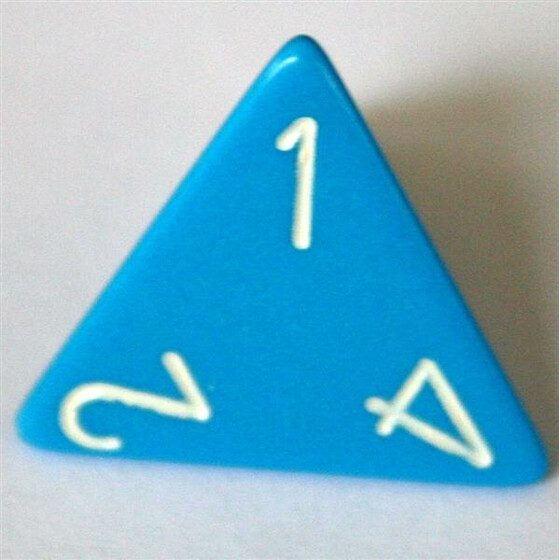 Chessex Opaque Light Blue W4