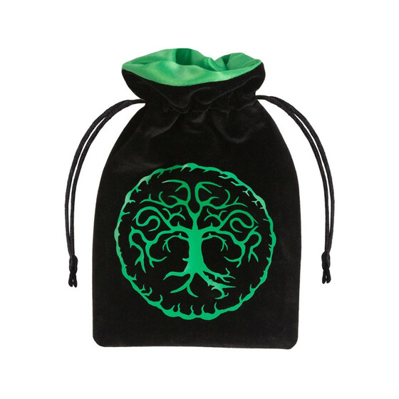 Dice bag Forest black/green
