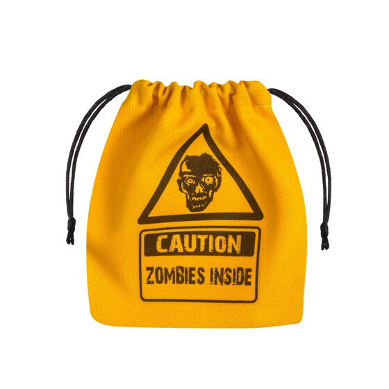Dice bag Zombi yellow/black