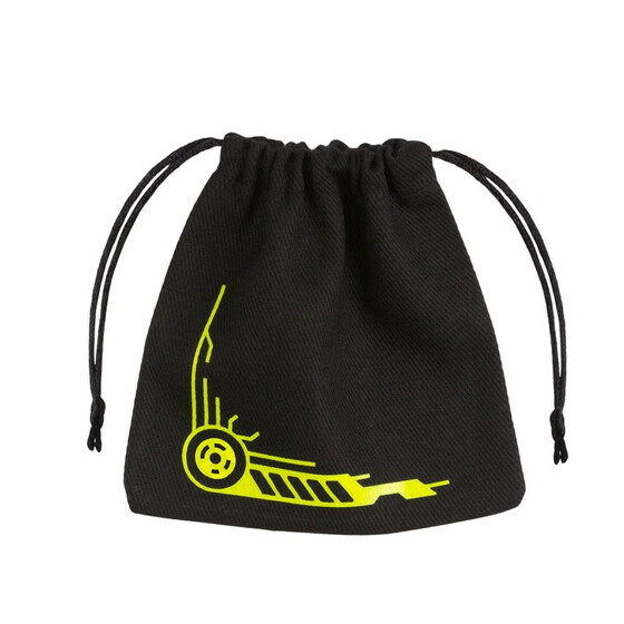 Dice Bag Galactic black/yellow
