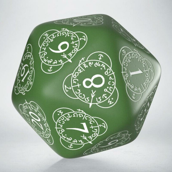 D20 Level Counter green