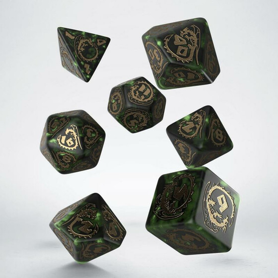 Dragons Botle green Set