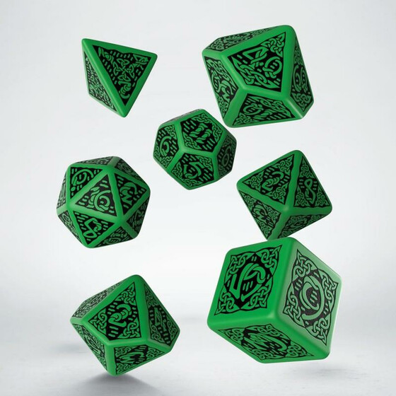 Celtic 3D Green/black Set