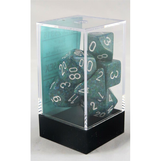 Chessex Speckled Sea set boxed