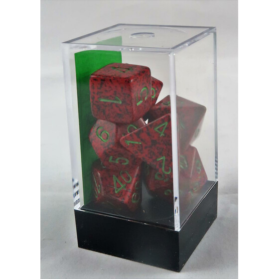 Chessex Speckled Strawberry Set boxed